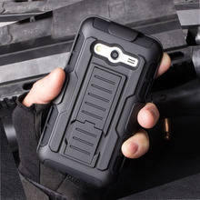 Impact Holster Stand Hard Case for Samsung Galaxy Core 2 G355H G3559 Case Skin Cover Shockproof Mobile Phone Bags Shell