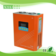 JNGE Brand 200A Off Grid Solar Charge Controller Solar Regulator for Solar Energy System LCD Display(China)