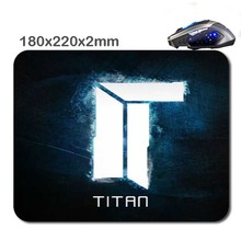 Titan Cs Go Logo 180X220X2cm  Rubber Gaming Mouse Mat Can Be Used Tablet Usb Micro Sd Laptop Mini Pc Keyboard