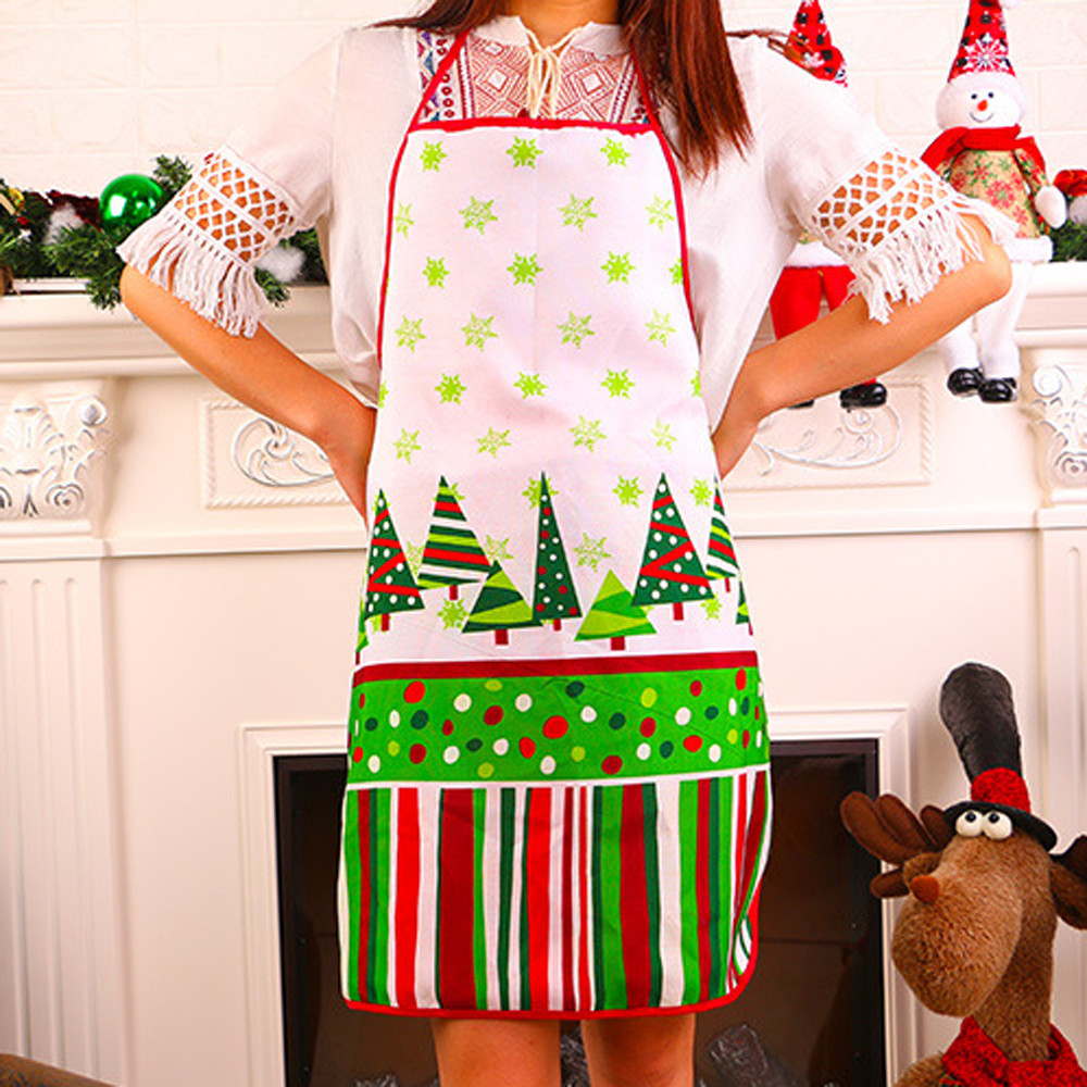 Novelty Cooking Kitchen Apron BBQ Christmas Gift Party Apron Personality Apron 60x72 cm Funny Printed Personality Aprons EY11(China)
