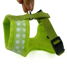 New Style Dog harness Adjustable Dot Collars Breathable Pet Puppy Vest Harnesses Cat Chest Straps Walking Lead Supplies(China)