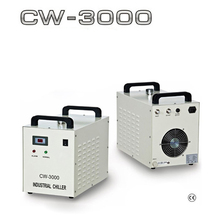 High Efficiency CO2 Laser Machine Laser water chiller CW3000