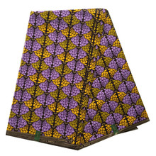 Fashionable ankara material unique design African fabrics wax printed cotton fabrics for 6 yards per piece