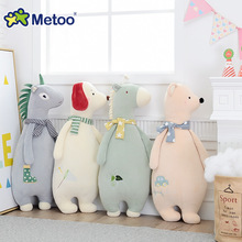 Sofa Cushions Animal Pillow Plush Stuffed Animal Cartoon Kids Toys for Girls Children Baby Birthday Christmas Metoo Doll(China)