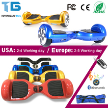 6.5 Inch Electric Skateboard Hoverboard 2 Wheel Electric Scooter Hoover Board Patinete Electrico Volante Oxboard Trotinette(China)