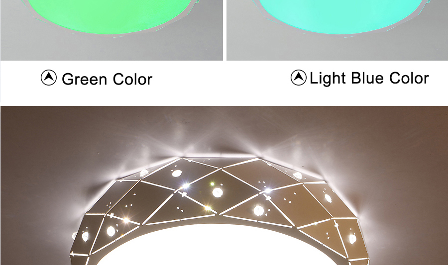 Plafoniera Led Rgb : Detail feedback questions about new design rgb ceiling lamp with