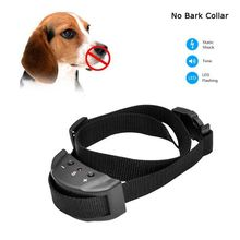 2016 Anti Bark No Barking Remote Electric Shock Vibration Dog Pet Training Collar New(China)