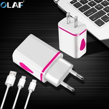 Buy Universal USB Charger Travel Wall Charger Adapter Smart Mobile Phone Charger Samsung galaxy s8 Xiaomi & Cable Android,Type c for $2.82 in AliExpress store