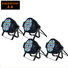 4Pcs/Lot 54x3W Led Par Light RGBW single color LED Par64 Light 4/8DMX Channels control,DMX Par Stage Light DJ Equipment 90V-240V(China)
