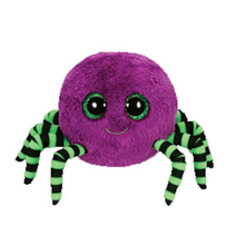 "Ty Purple Halloween Spider 6"" 16cm Beanie Baby Plush Stuffed Collectible Soft Doll Toy(China)"