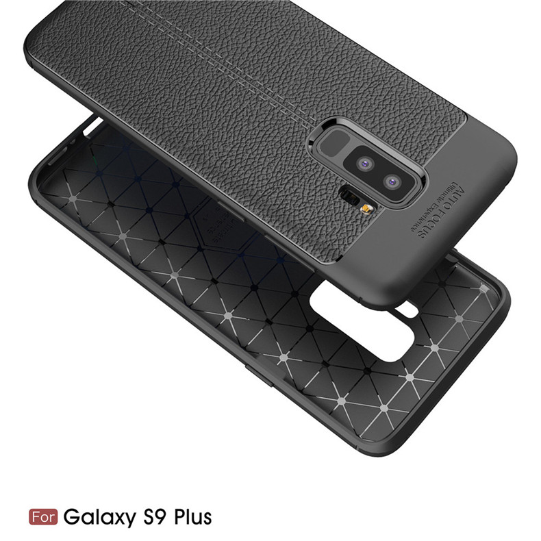 Lenuo case for Samsung Galaxy S9 Plus explosion-proof TPU soft mobile phone cover for Samsung Galaxy S9+ silicone shell cases 3