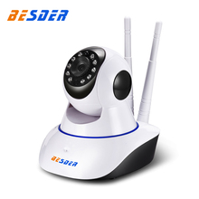 BESDER Yoosee 720P Wifi Ip CCTV Camera Two Way Audio Wires Wireless Pan Tilt 1 MP Indoor Security Ip Camera Support SD Card(China)