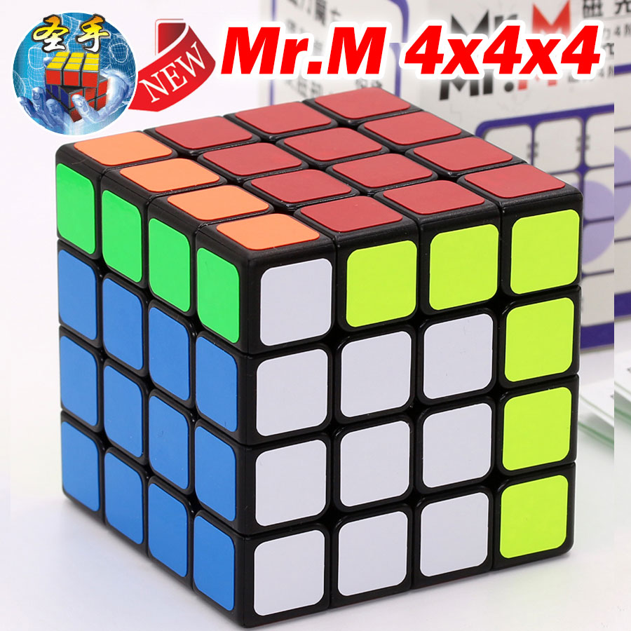 Puzzle Magic Cube ShengShou 4x4x4 444 Magnetic cube Mr M professional speed cube Logic game toy champion competition twist clubZ