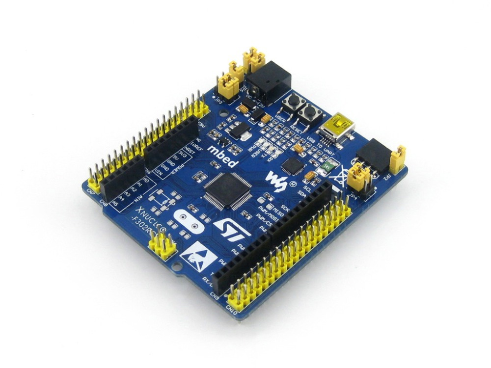 Modules STM32 Board XNUCLEO-F302R8 STM32F302R8T6 Cortex-M4 STM32 Development Board with a ST-LINK/V2 Module Starter Kit Free Shi(China (Mainland))