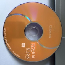 10 discs Less than 0.3% Defect Rate D9 8.5 GB Gold Blank Printed DVD+R DL Disc(China)
