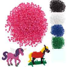 Baby Toys Puzzle 1000pcs 5mm Hama Perler Beads DIY Handmaking Fuse Bead Intelligence Educational Toy Bady Toys for Children(China)