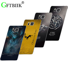 Cute Cartoon Case For Samsung Galaxy Note 5 SM-N920F N920 Note5 Hard Plastic Case Fashion Print Football Cover Game of Thrones 7