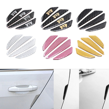 Buy 4 Pcs/Lot Carbon Fiber Car Sticker Car Door Protector Fender Bumper Door Side Edge Protection Guards Stickers Auto Accessories for $5.55 in AliExpress store
