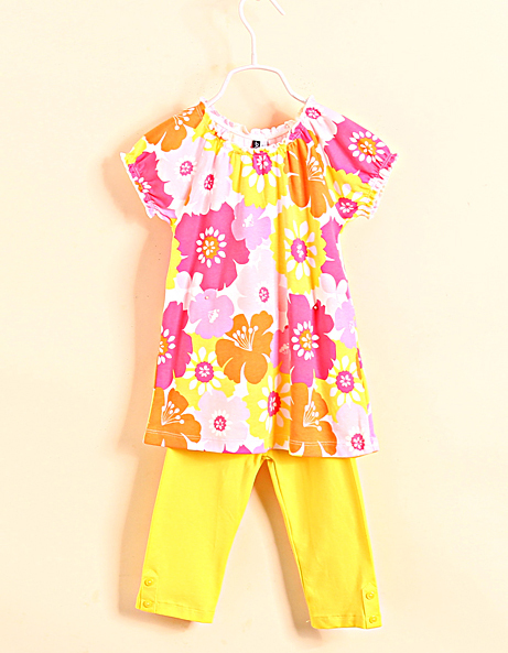 New 2015 summer 100% cotton dress short sleeve clothes pants suits girls clothing sets boy suit kids clothes sets free shipping<br><br>Aliexpress