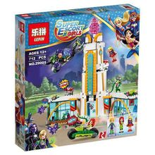 Lepin 29001 Compatible With legoe Super Hero High School Girl Series Set Educational Building Blocks Brick Toys 712Pcs  41232
