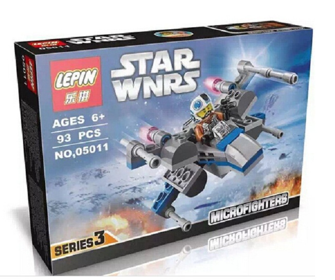 LEPIN 05011 Star Wars Rogue One  Resistance X-Wing Fighter First Order Poes X-wing Fighter assembled toy building blocks Toys<br><br>Aliexpress