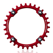 FOURIERS 104 Bcd Mountain Bicycle Chainwheel AM FR DH Aluminum bike Crankset Parts 30T/32T/34T/36T/38T/40T use 9 /10 Speed