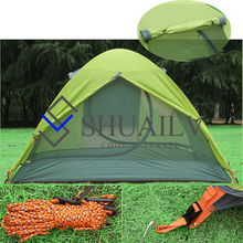 Professional Outdoor Windproof Tourist Tent Camping Ultra Light Double Winter Aluminum Pole Awning Tents Hiking Fishing Tents