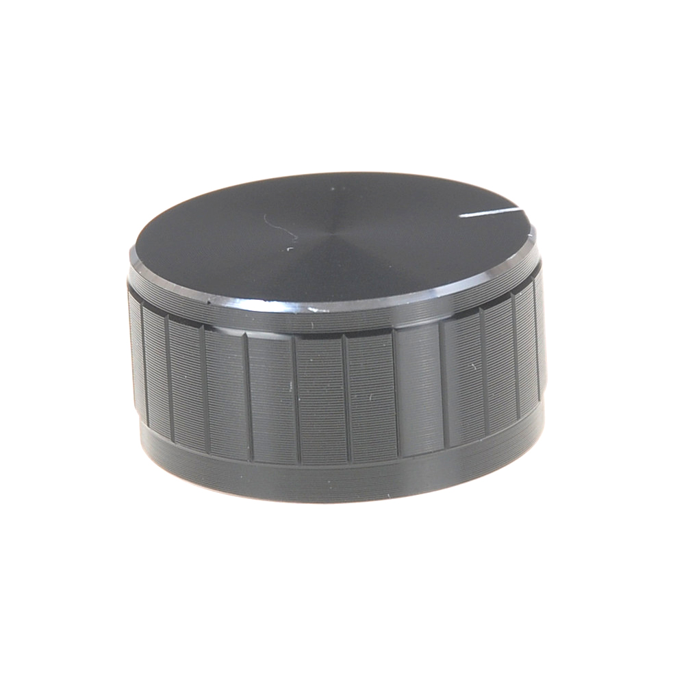 1pc 2 colors 32x17mm Circular Knob Aluminium Cover for Audio Volume Tone Control
