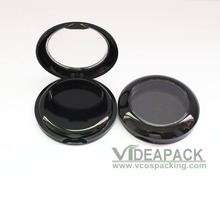 100PCS 5g empty concealer compact/eyeshadow case with clear window /smart DIY eyeshadow container with aluminum pan