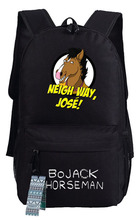 New BoJack Horseman cosplay Backpack Anime bags Student oxford Schoolbags AS Gift