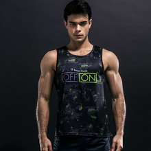 ZRCE Bodybuilding Gym Loose Tank Tops Men 3D Print Tactical Military Vest Breathable Muscle Fitness Clothing Stringer Tank Tops(China)