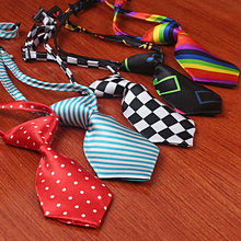 2 PCS Adjustable Dog accessories Pet Toy Kid Bow Tie Dog Puppy Cat Kitten Tie Necktie Clothes decoration  Lovely Grooming Sale