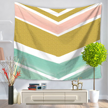 Stripe Tapestry Wall Hanging Tapestries Sea Beach Bedspread Beach Towel Yoga Mat Blanket Table Cloth 200*150/150*130cm