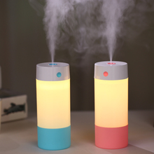 250ML Ultrasonic Air Humidifier for Home Car Air Freshener Essential Oil Diffuser Aroma USB Umidificador with LED Warm Light(China)