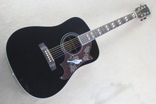 2017 New + Factory + Black Chibson Dove acoustic guitar GB dove electric acoustic guitar Glossy black Dove model acoustic guitar