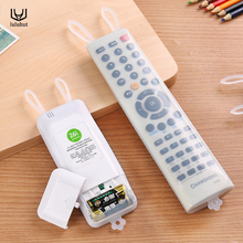 luluhut rabbit design transparent silicone case for TV remote control air conditioning cover anti-dust waterproof storage bag(China)
