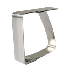 Useful Convenient Table Cover Cloth Clamp Stainless Steel Tablecloth Clip Clamp Holder For Party Wedding Prom