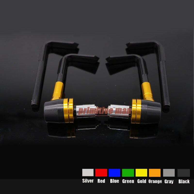 Aluminum&amp;ABS Protector Handlebar 7/8 22mm Brake Clutch Levers Protect Guard For Benelli BN TNT TRE-K Triumph Daytona Gold<br><br>Aliexpress