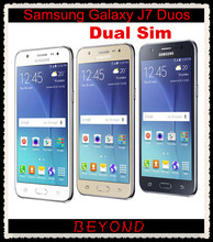 "Samsung Galaxy J7 Duos Original Unlocked GSM 4G LTE Android Mobile Phone Octa Core Dual Sim 5.5"" 13MP RAM 1.5GB ROM 16GB(China)"