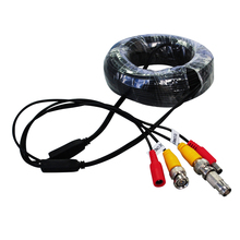 ANNKE SANNCE BNC Video Power Siamese Cable 65ft 18m 20m for Analog AHD CVI CCTV Surveillance Camera DVR Kit