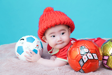 Kids Football ball indoor Outdoor fun toy cartoon soccer balls sports Child outside game kawaii character classic mini education(China)