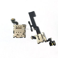 In stock ! For HTC M8 New sim slot SD tray Board volume Flex Cable Repair Parts
