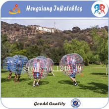 8pcs+2blower ,2017 Giant zorb football bumper soccer balls for sale bubble footall,bumper ball for sales(China)