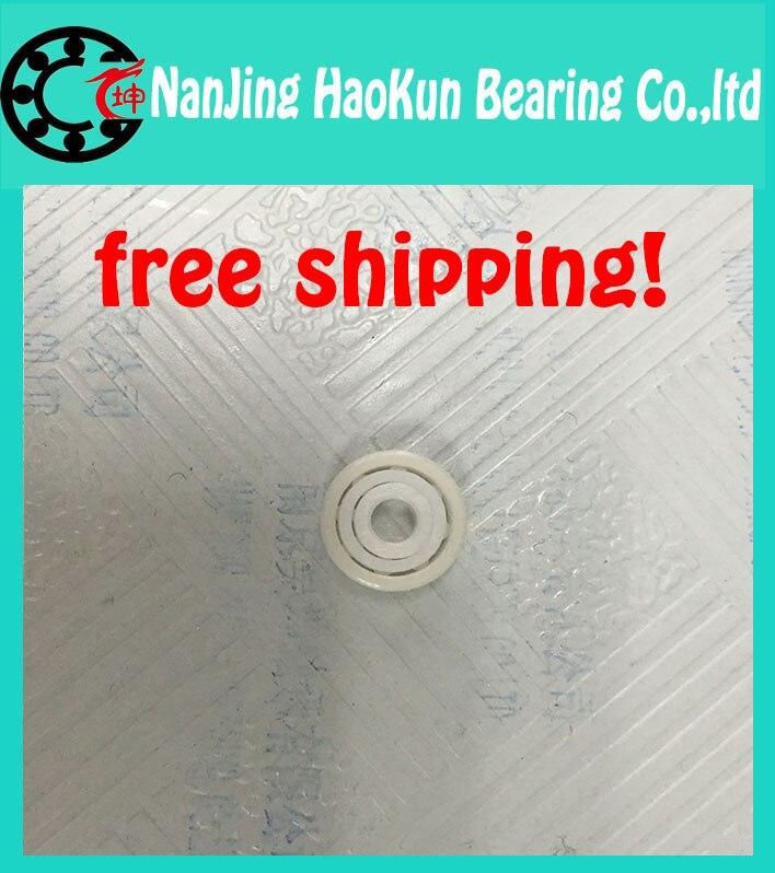 Free shipping 696 full ZrO2 ceramic deep groove ball bearing 6x15x5mm good quality<br><br>Aliexpress