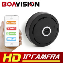 2MP IP Camera HD 1080P VR Wifi Camera Fisheye 360 Degree Surveillance MINI Wireless Security Camera WI-FI P2P APP V380 VIEW