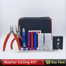 Vape Tools Wire Veeape Coil Tool Kit DIY Kit For RDA RBA RTA RDTA Atomizer DIY Tool Bag Coiling Kit E Cig Accessories(China)
