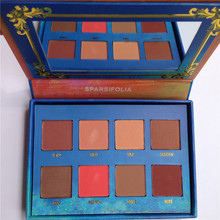 Sparsifolia professional VENUS 8 colors Eyeshadow Palette pigmented shimmer VENUS II  eye makeup high quality