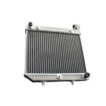 ATV Aluminum Alloy radiator For Honda TRX450R TRX 450ER 4-STROKE 449cc 04-2009 motorcycle replacement parts engine cooling parts