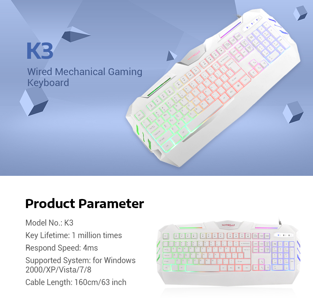 Warwolf K3 Wired Mechanical Gaming Keyboard With Rgb Backlight 104 Keybiard 20180718180150 67660