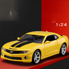 1/24 MAISTO Chevrolet Camaro SS RS 2010 Bumble Bee YELLOW Color Model Car NEW